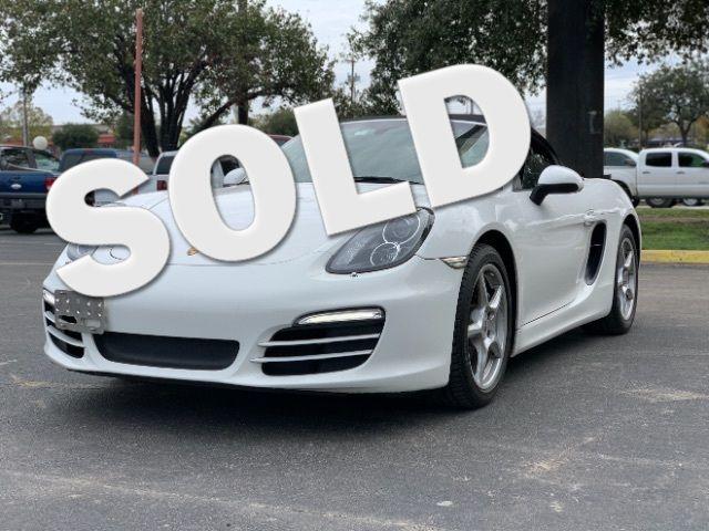 2013 Porsche Boxster Base in San Antonio, TX 78233