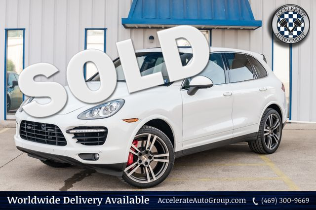 2013 Porsche Cayenne TURBO LOADED NAV SUNROOF RECENT SERVICE AWD NICE! in Rowlett