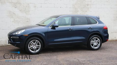 2013 Porsche Cayenne S V8 Sport SUV w/Navigation, Panoramic Roof, Heated Front/Rear Seats & Tow Package in Eau Claire
