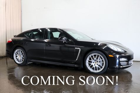 2013 Porsche Panamera 4 AWD Platinum Edition w/Sport Chrono Pkg, Nav, Heated/Cooled Seats & 20