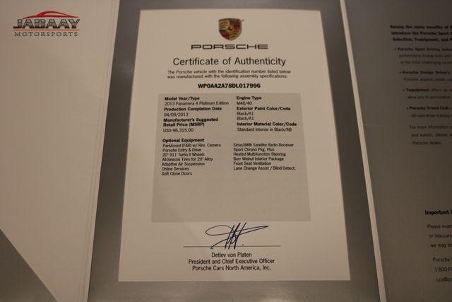 2013 Porsche Panamera 4 Platinum Edition Merrillville, Indiana 55