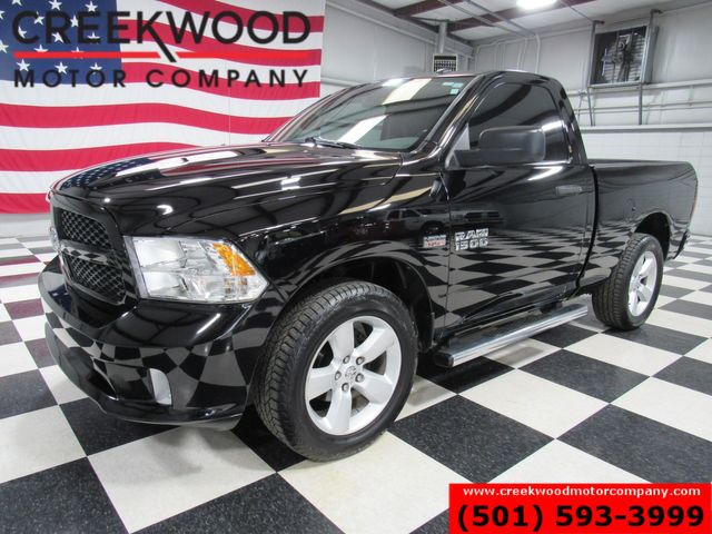 2013 Ram 1500 Dodge Express SLT 4x4 Hemi Black Regular Cab 20s NICE