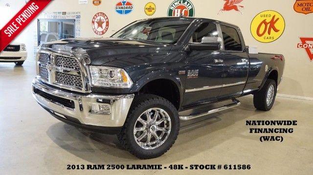 2013 Dodge RAM 2500 Laramie 4X4 HEMI,LIFTED,REAR DVD,HTD/COOL LTH,48K!