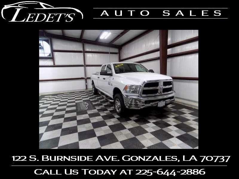 2013 Ram 2500 Tradesman 4X4 - Ledet's Auto Sales Gonzales_state_zip in Gonzales Louisiana
