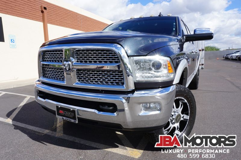 2013 Ram 2500 Laramie Mega Cab 4x4 Diesel 4WD Ram Box ~ LOADED | MESA, AZ | JBA MOTORS in MESA AZ
