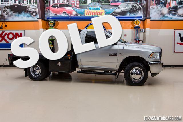 2013 Ram 3500 Tradesman Flatbed DRW 4X4