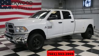 2013 Ram 3500 Dodge ST SLT 4x4 Diesel Dually Auto White TvDvd B&W Nice in Searcy, AR 72143