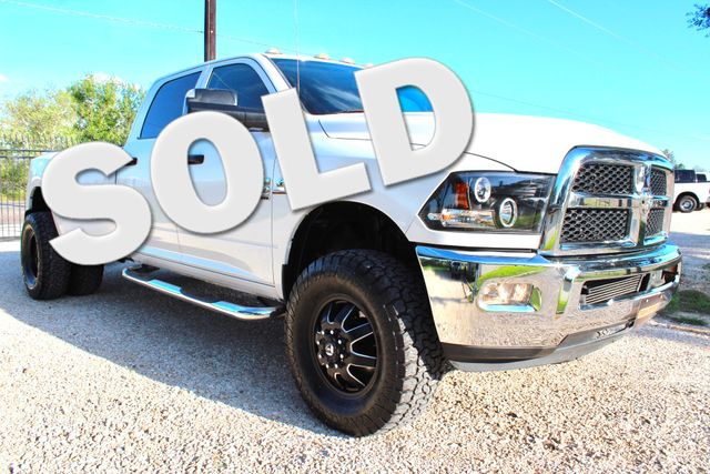 2013 Ram 3500 DRW Tradesman Crew Cab 4x4 6.7L Cummins Diesel Auto Sealy, Texas