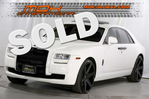 2013 Rolls-Royce Ghost - GIovanna wheels - Blacked out trim - Rear DVD in Los Angeles