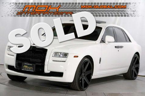 2013 Rolls-Royce Ghost - GIovanna wheels - Blacked out trim - Rear DVD in Los Angeles