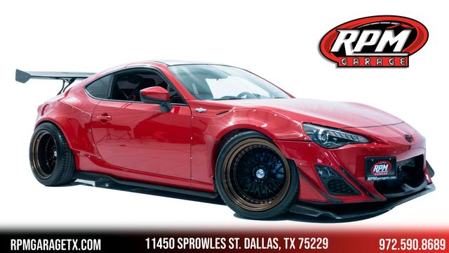 2013 Scion FR-S Widebody Supercharged with Many Upgrades