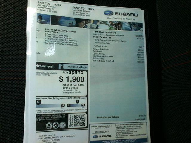 2013 Subaru Impreza WRX Premium/DXO San Antonio, Texas 32