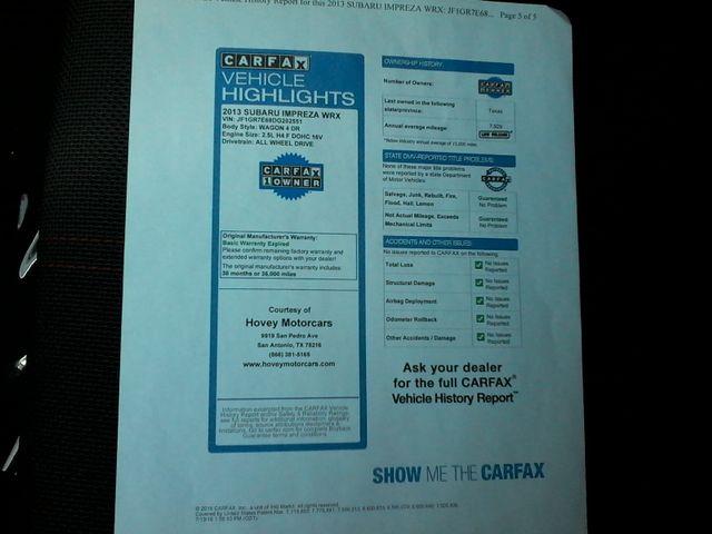 2013 Subaru Impreza WRX Premium/DXO San Antonio, Texas 33