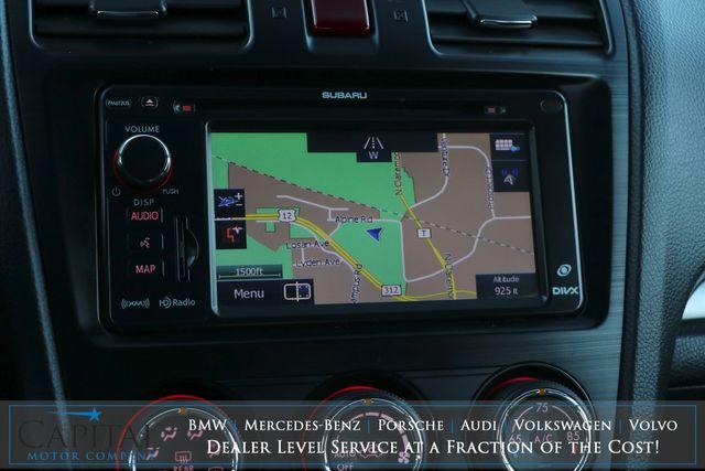 2013 Subaru XV Crosstrek Limited AWD SUV w/Touchscreen Nav, Backup Cam, Heated Seats, Moonroof & B.T. Audio in Eau Claire, Wisconsin 54703