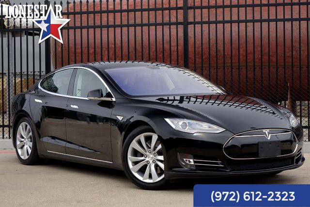 2013 Tesla Model S P85 Performance Pano Roof Navigation Clean Carfax in Plano, Texas 75093