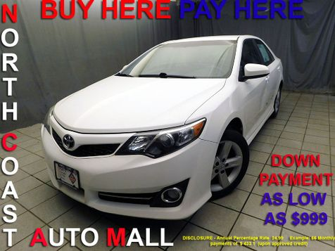2013 Toyota Camry LE As low as $999 DOWN in Cleveland, Ohio