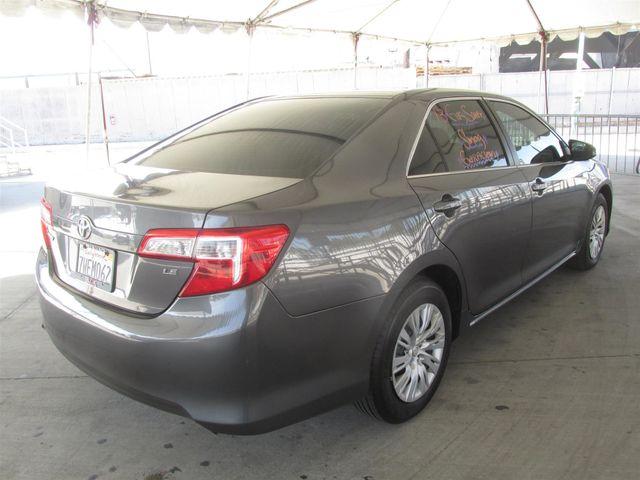 2013 Toyota Camry LE Gardena, California 2