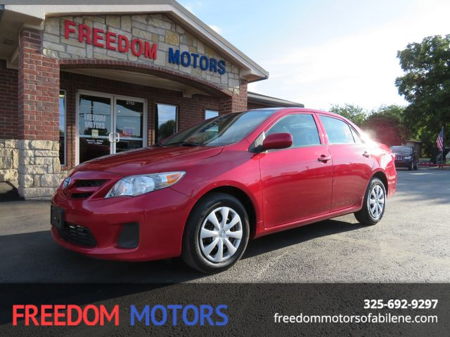 2013 Toyota Corolla L | Abilene, Texas | Freedom Motors  in Abilene,Tx Texas