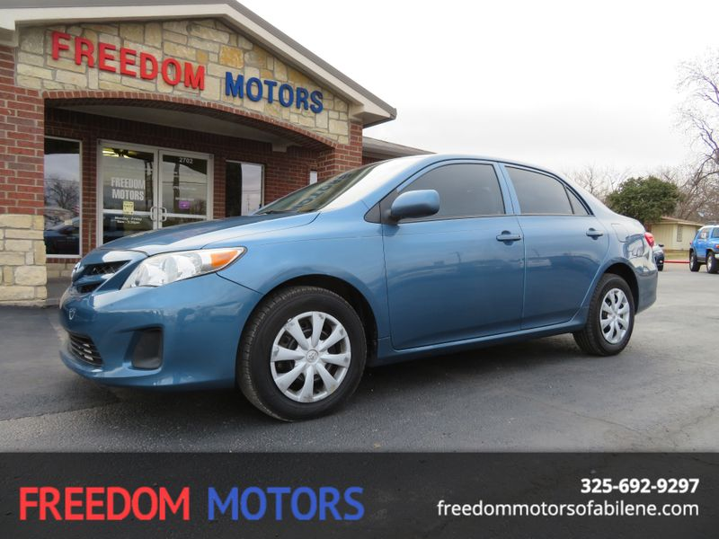 2013 Toyota Corolla L | Abilene, Texas | Freedom Motors  in Abilene Texas