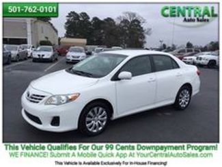 2013 Toyota Corolla L | Hot Springs, AR | Central Auto Sales in Hot Springs AR
