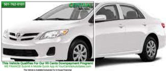 2013 Toyota Corolla L   Hot Springs, AR   Central Auto Sales in Hot Springs AR