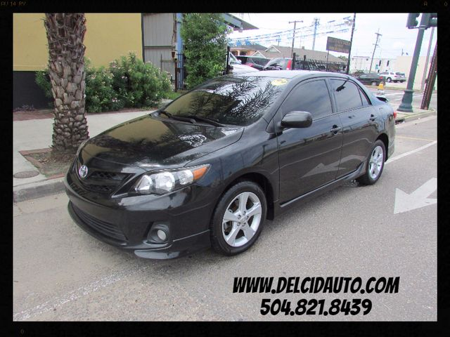 2013 Toyota Corolla S, 1-Owner! Tinted Windows! Clean CarFax!