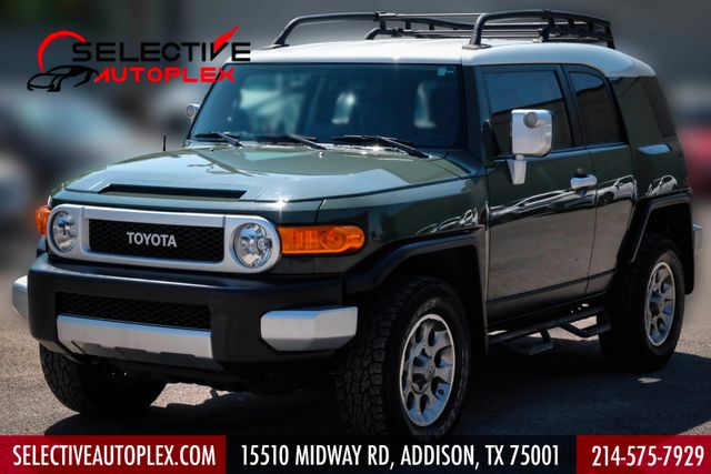 2013 Toyota FJ Cruiser 4WD AT Roof rack Running Board