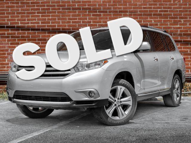 2013 Toyota Highlander Limited Burbank, CA