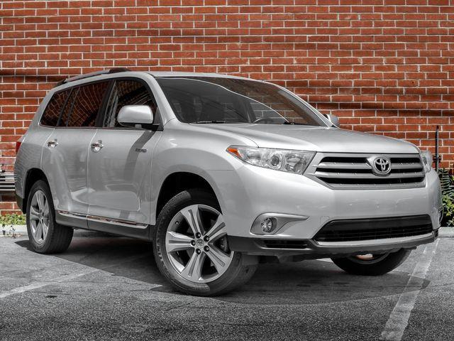 2013 Toyota Highlander Limited Burbank, CA 1