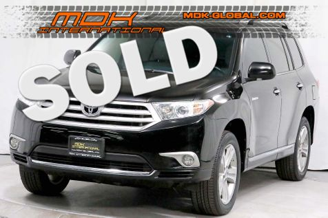 2013 Toyota Highlander Limited - 4WD - 3rd row seats - JBL Sound  in Los Angeles