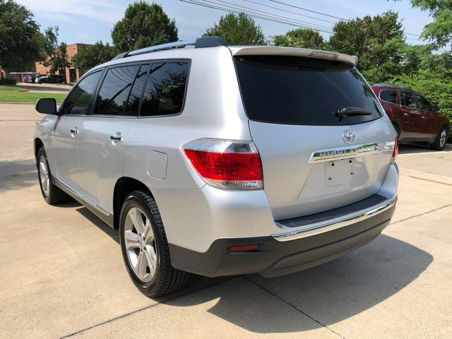 2013 Toyota Highlander Limited 1 Owner 0 Accidents in Carrollton, TX 75006