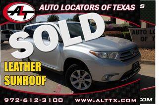 2013 Toyota Highlander in Plano TX