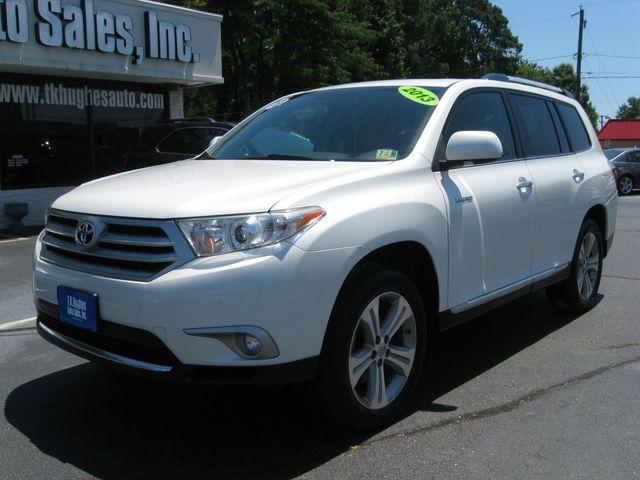 2013 Toyota Highlander Limited AWD Richmond, Virginia 1