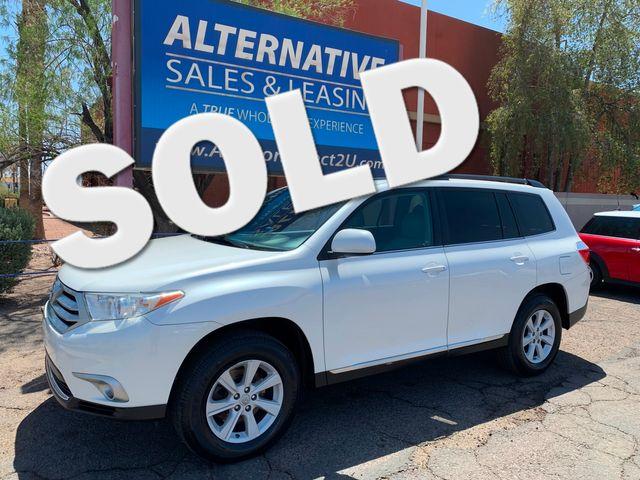 2013 Toyota Highlander SE 4WD 3 MONTH/3,000 MILE NATIONAL POWERTRAIN WARRANTY Mesa, Arizona