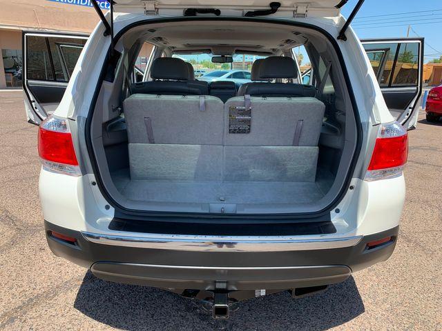 2013 Toyota Highlander SE 4WD 3 MONTH/3,000 MILE NATIONAL POWERTRAIN WARRANTY Mesa, Arizona 11