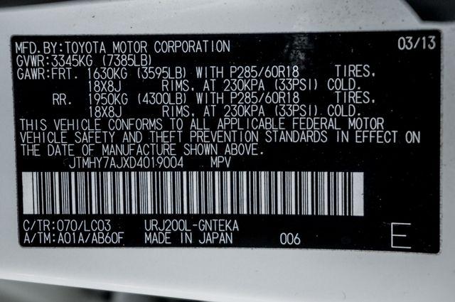 2013 Toyota Land Cruiser - 56K MILES - NAVI - DVD - 3RD ROW Reseda, CA 47
