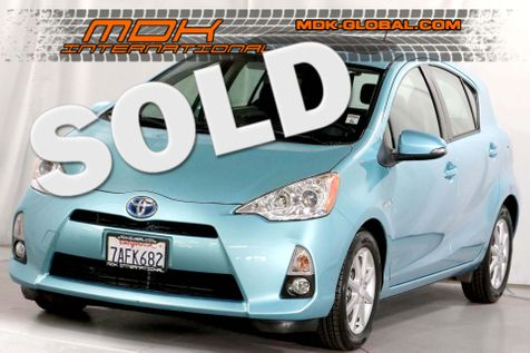 2013 Toyota Prius c Four - Nav - Sunroof - Leather - Top of the line in Los Angeles