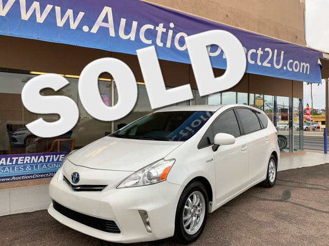 2013 Toyota Prius V - III 3 MONTH/3,000 MILE NATIONAL POWERTRAIN WARRANTY Mesa, Arizona