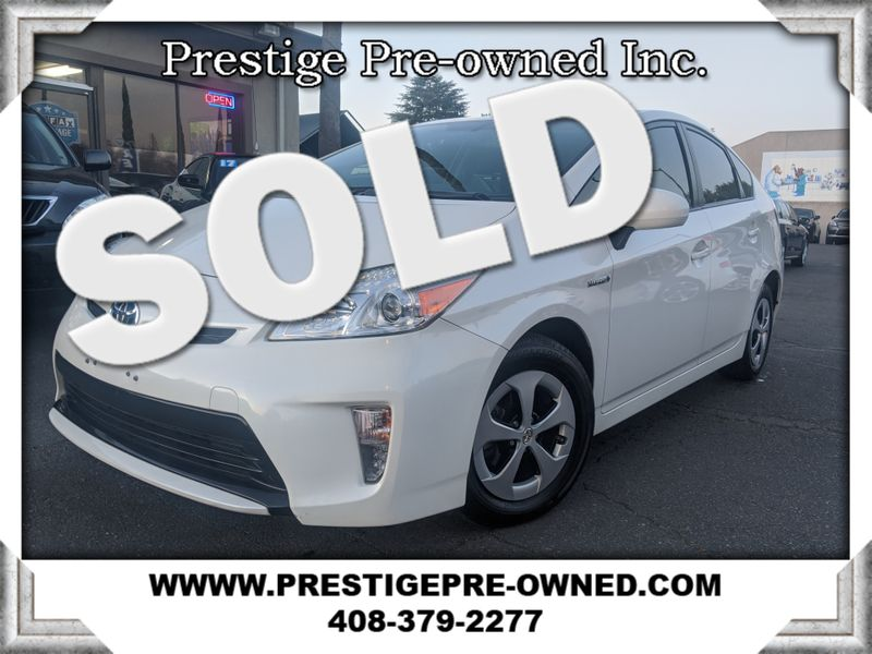 2013 Toyota PRUIS THREE  in Campbell CA