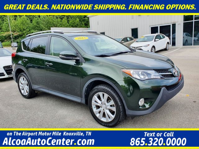 "2013 Toyota RAV4 Limited AWD Leather/Sunroof/Heated Seats/18"" Alloy"