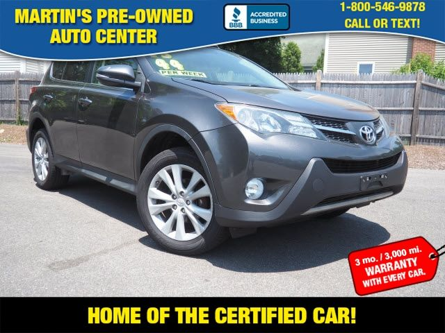 2013 Toyota RAV4 Limited in Whitman, MA 02382