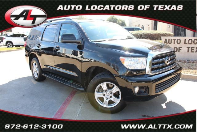 2013 Toyota Sequoia SR5 with LEATHER and POWER SUNROOF in Plano, TX 75093