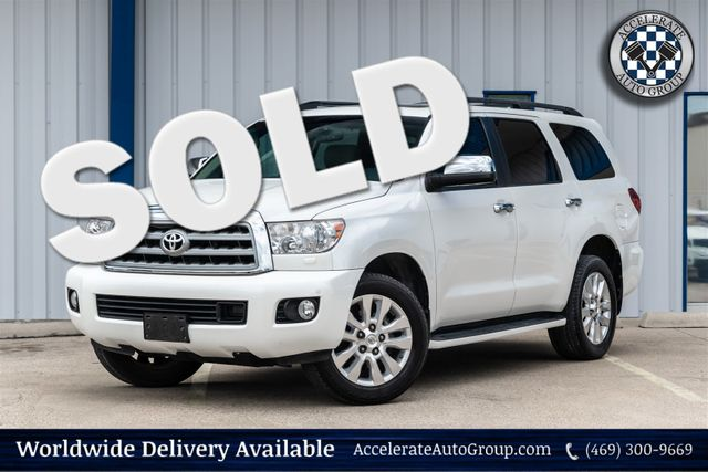 2013 Toyota Sequoia Platinum in Rowlett