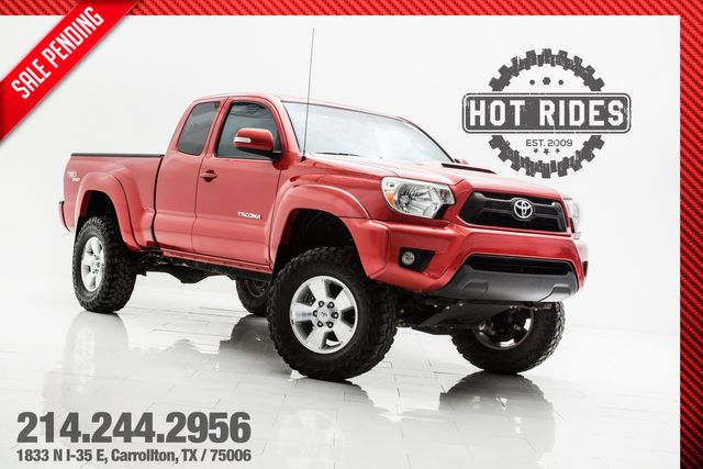 "2013 Toyota Tacoma TRD Sport 4X4 With 6"" Lift"