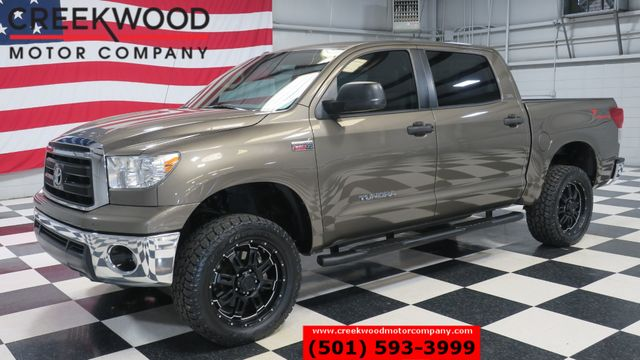 2013 Toyota Tundra SR5 TSS 4x4 Crew Max 5.7 Lift Black 20s New Tires