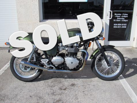 2013 Triumph Thruxton 900  in Dania Beach, Florida