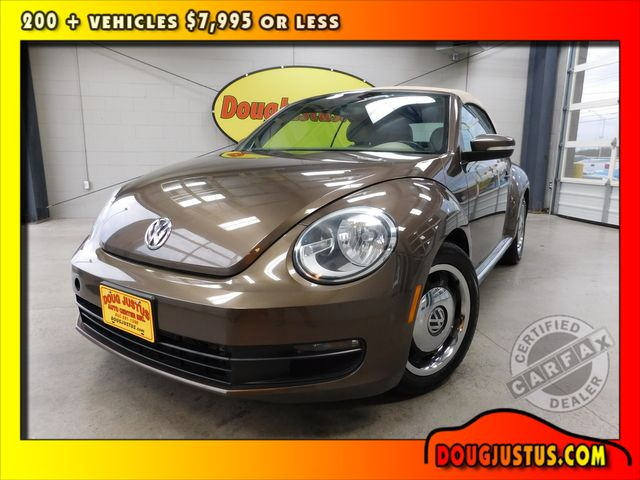 2013 Volkswagen Beetle Convertible 2.5L w/Tech