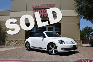 2013 Volkswagen Beetle Convertible 2.0T w/Sound/Nav in Arlington, TX Texas, 76013