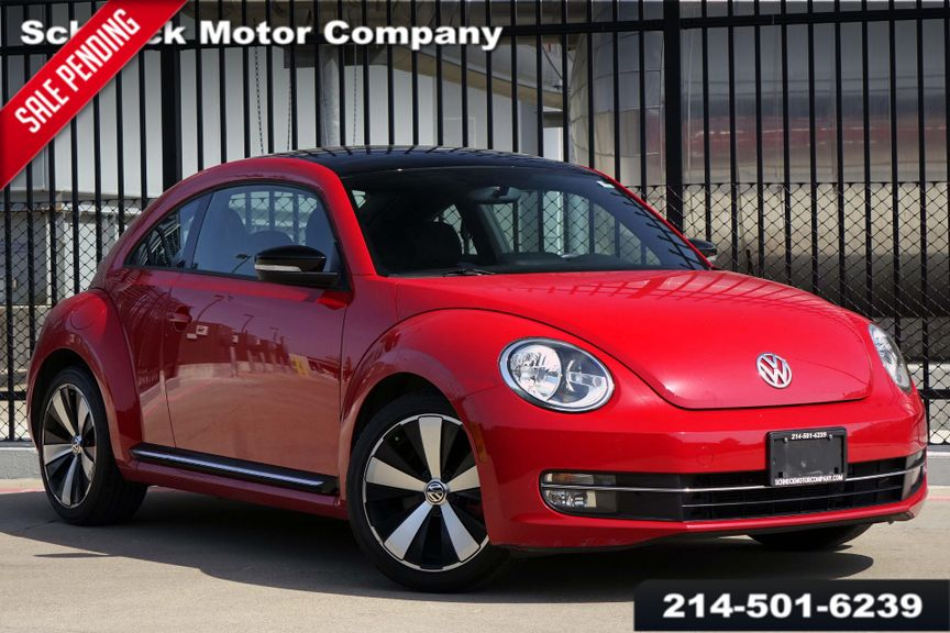 2013 Volkswagen Beetle Coupe Fender Edition 20t Turbo Wsunsound