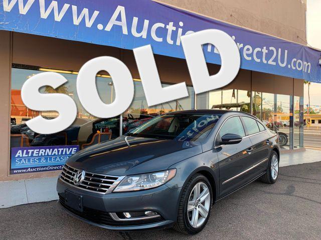 2013 Volkswagen CC Sport 3 MONTH/3,000 MILE NATIONAL POWERTRAIN WARRANTY Mesa, Arizona